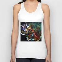 thor Tank Tops featuring Thor by ururuty