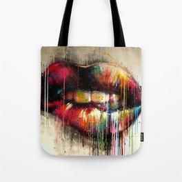 Lip Biter Tote Bag