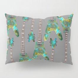 Guitar 1 Pattern - Dark Pillow Sham