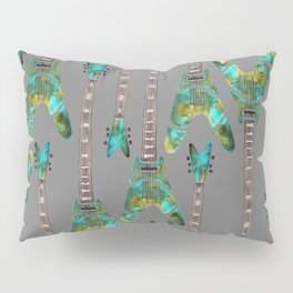 Guitar 1 Pattern - Dark Pillow Sham
