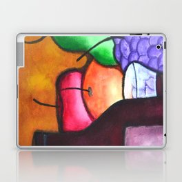 Fruits And Wine Still Life Painting By Saribelle Laptop & iPad Skin