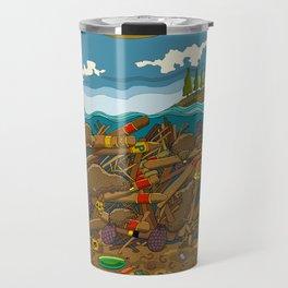 "Canadian Beavers Loving Cuban Cigars! Building a ""Dam-a-dor"" Travel Mug"