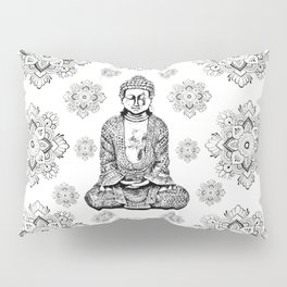 Buddha, HOME DECOR,with hand-painted Mandala Clouds,iPhone case,iPhone cover,iPhone skin,Laptop skin Pillow Sham