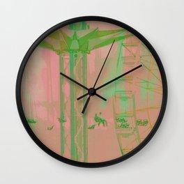 Carnival Rides Wall Clock