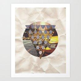 Tessa 5 Art Print