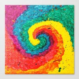 Rainbow Abstract #4 Canvas Print