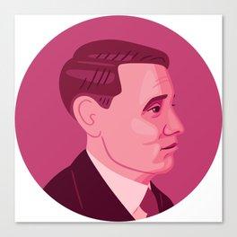 Queer Portrait - Willem Arondeus Canvas Print