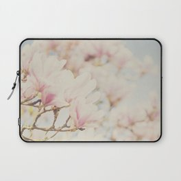 pink magnolia blossoms ... Laptop Sleeve