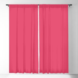 Cerise Red Blackout Curtain