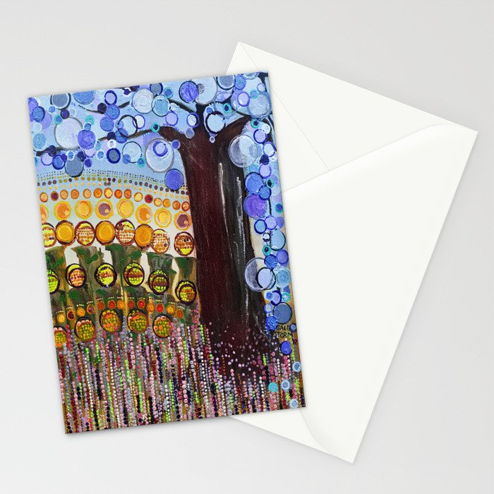 :: Indiana Blue Willow :: Stationery Cards