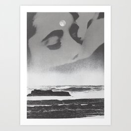 Ghost Waves Art Print