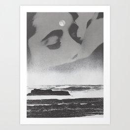 Ghost Waves Art Print