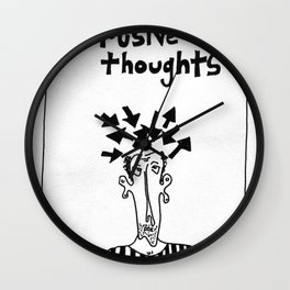 Intrusive Thoughts Wall Clock