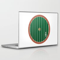 hobbit Laptop & iPad Skins featuring Hobbit Door by Jonathan Knight