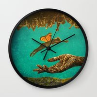 let it go Wall Clocks featuring Let Go by Brianne Lanigan