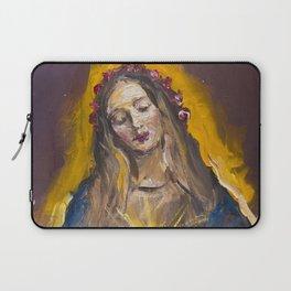The Mystic Rose Laptop Sleeve