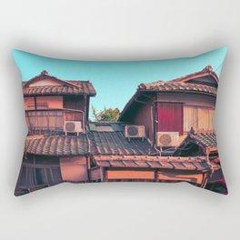 Kyoto Street Rectangular Pillow