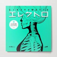 Electro - Japanese Version Metal Print