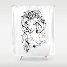 Poetic Gypsy Shower Curtain