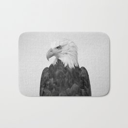 Eagle - Black & White Bath Mat