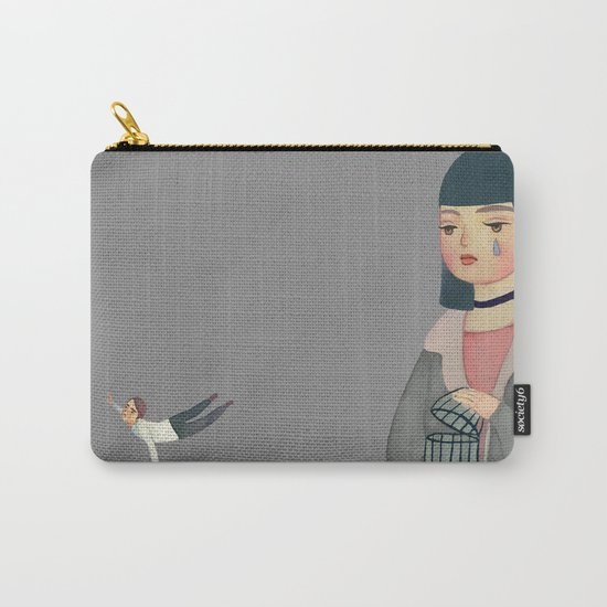 Hard to Let Go Carry-All Pouch