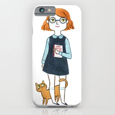 A girl and her cat iPhone 6s Slim Case