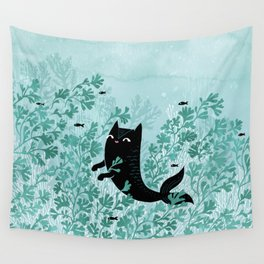Undersea (Mint Remix) Wall Tapestry
