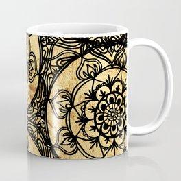 Golden Lace Coffee Mug
