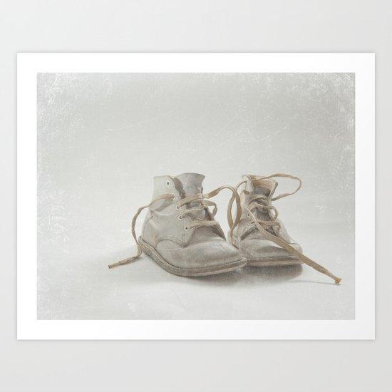 Baby Shoes Art Print