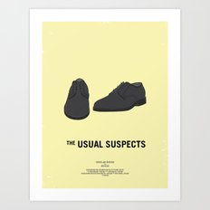 Dress The Part - Usual Suspects Art Print