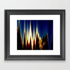 Mt. Nowhere Framed Art Print