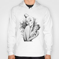 burlesque Hoodies featuring Burlesque by Zema
