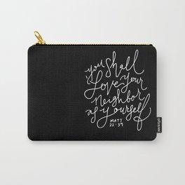 Matthew 22:39 Carry-All Pouch