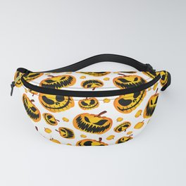 Festive Halloween Pumpkin Fanny Pack