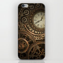 Steampunk Clockwork iPhone Skin