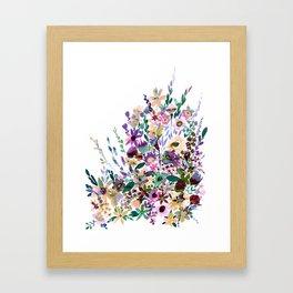 Scarlett Floral Pastel Framed Art Print