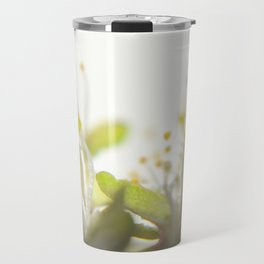 Abstract Filament Travel Mug