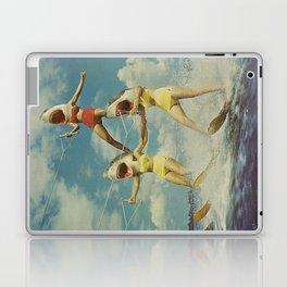 On Evil Beach - Sharks Laptop & iPad Skin