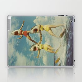 On Evil Beach - Sharks Laptop & iPad Skin