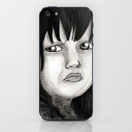 Behind You iPhone Skin