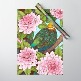 Whistling Fruit Dove in Spring Wrapping Paper