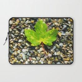 Green maple leaves Laptop Sleeve