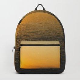 Sunset in Pomorie Backpack