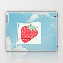 Strawberry Sky Laptop & iPad Skin