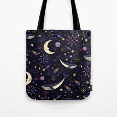 Sea Space Tote Bag