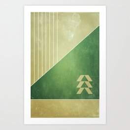 Masters of the Frontier Art Print