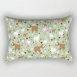 Happy Goats Rectangular Pillow