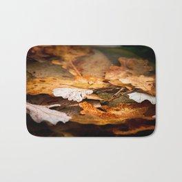 Fall is here Bath Mat