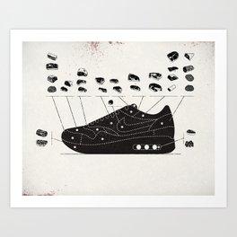 MAX100 / 004: Cuts Art Print