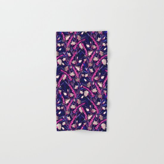 Libertine Midnight Hand & Bath Towel